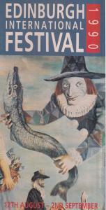 Edinburgh Scottish Festival 1990 Marillion Genesis Fish Cover Music Guide Book