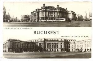 RP: Bucuresti, Romania, Universitatea C.I.PARHON & Muzeul de Arta Al R.P.R....