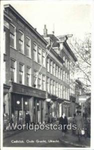 Holland Netherlands, Nederland Cadiclub, Oude Gracht  Cadiclub, Oude Gracht