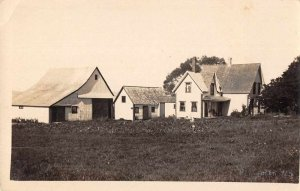 Plympton Nova Scotia Canada Residence Real Photo Vintage Postcard JH230832
