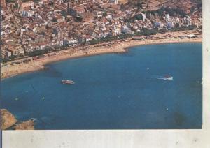 Postal 013124: Vista aera de Blanes, Gerona