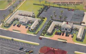 Mount Vernon Motor Lodges West Palm Beach Florida Curteich