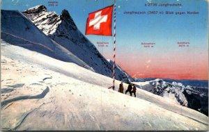 Swiss Alps mountain heights mountaineers Jungfrau Silberhorn etc