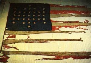 SC - Fort Sumter. Garrison Flag from April 12-13, 1861