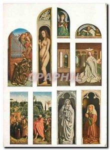 Modern Postcard Van Eyck Polyptyque Cand