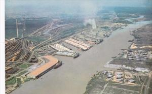 Alabama Montgomery Aerial View Of State Docks