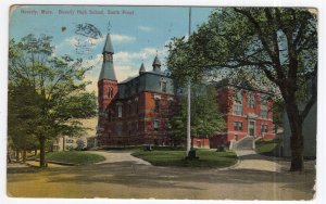 Beverly, Mass, Beverly High School, South Front