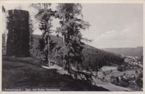 Germany Schwarzwald Im Thus Mit Ruine Kevernburg 1933