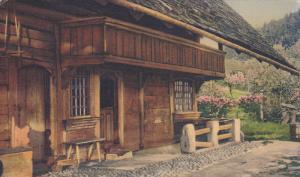 BERNE, Switzerland, 1900-1910's; Goldene Abedsonne