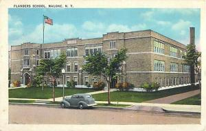 Flanders High School Malone NY New York