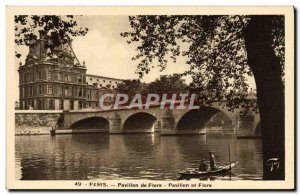 Old Postcard Paris Pavillon De Flore