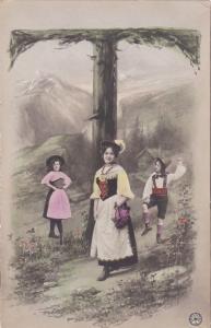 RP: Fantasy Alphabet Postcard , 1901-07 ; Letter  T  ; NPG