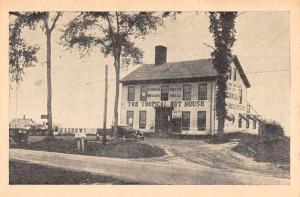 East Belfast Maine Tropical Nut House Street View Antique Postcard K86152