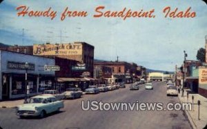 First Ave. - Sandpoint, Idaho ID