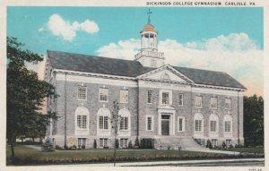 CARLISLE, Pennsylvania, 1910-20s; Dickinson College Gymnasium