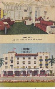 Florida Miami The Miami Hotel 1948 sk5947