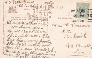 PENAENBACH, Wales, United Kingdom; PU-1905; Little Orme in Distance, TUCK
