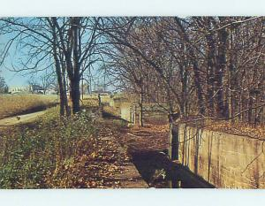 Pre-1980 TOWPATHS AND BOATS BY HIGH SCHOOL Dresden Ohio OH k0284