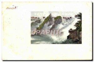 Old Postcard Rheinfall