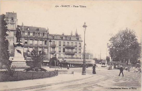 Nancy , France , 00-10s : Place Thiers