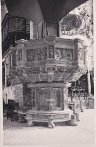 RP; PALMA, Islas Baleares, Spain; Pulpit of Cathedral, 10-20s
