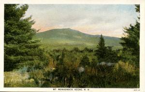 NH - Mt Monadnock  from Keene