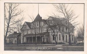 Sioux Rapids Iowa~Parker House Hotel? Mansion?~Get Ready for Carnival~1911 RPPC