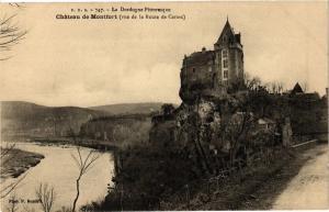 CPA Dordogne - Chateau de MONTFORT vue de la Route de Carsac (233320)