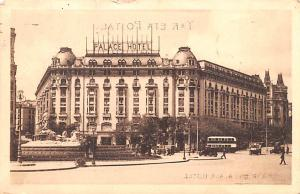 Spain Old Vintage Antique Post Card Palace Hotel Madrid Postal Used Unknown, ...