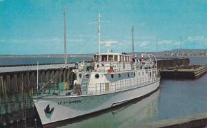 Naval Training Ship St Barnabe , Rimouski , Quebec , Canada , 50-60s