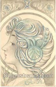 Artist B. Petella (Italy) Postcard Post Card writing on back