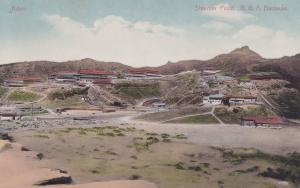 Aden Steamer Point Military Barracks Old Yemen Postcard