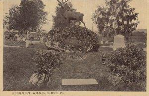 WILKES-BARRE , Pennsylvania, 1910s ; Elks Rest