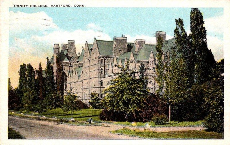 Connecticut Hartford Trinity College 1924
