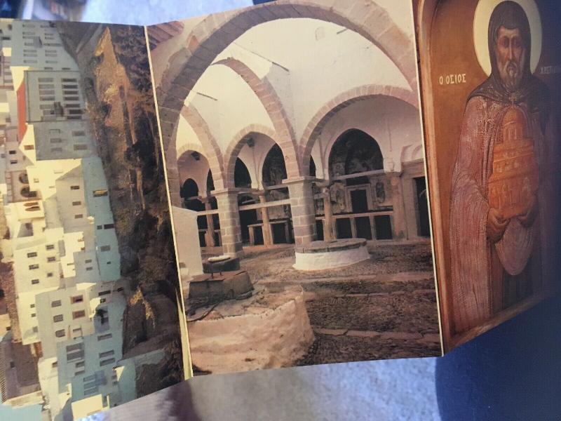 Vintage Postcard set From Hellas, 10 Artistic Fotos Color , Greece Postcards