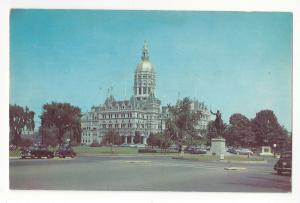 Hartford CT State Capitol Connecticut Bushnell Park Vtg Postcard