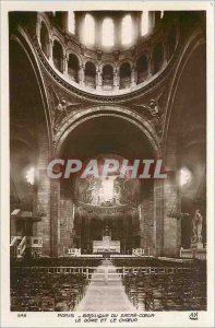 Old Postcard PARIS - Basilica of Sacr�-C�ur The d�me and Ch�ur