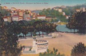 France Lyon Pont de la Boucle Monument des Enfants du Rhone