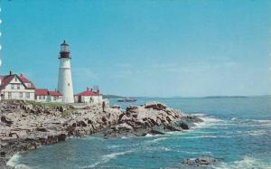 Portland Head Light, First Lighthouse Erected By United States, Built in 1791...