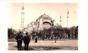 Mosque Constantinople Turkey Non Postcard Backing