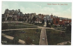 ST JOHN , New Brunswick , Canada ,1900-1910's; Queen Square