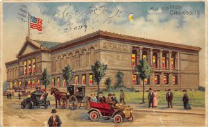 Art Institute Chicago, Illinois, USA Hold to Light 1908
