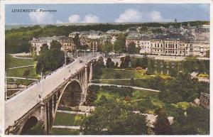 Panorama, Bridge, Luxemburg, 1910-1920s