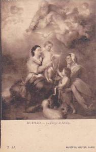 Murillo La Vierge de Seville Musee Du Louvre Paris
