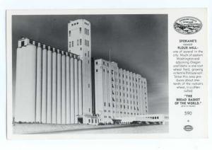 Spokane's Newest Flour Mill Spokane Washington WA