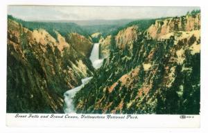 Ephratah, New York 1907 local use Postcard, Great Falls & Grand Canyon