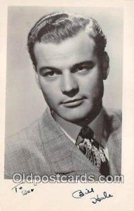 Bill Hale Movie Actor / Actress, Entertainment Postcard Post Card Autographed...