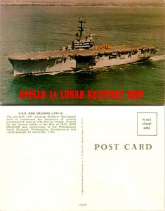 Apollo 14 Lunar Recovery Ship, U.S.S. New Orleans (10075)
