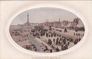 England Blackpool The Promenade 1912