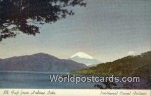 Hakone Lake Mt Fuji Japan Unused